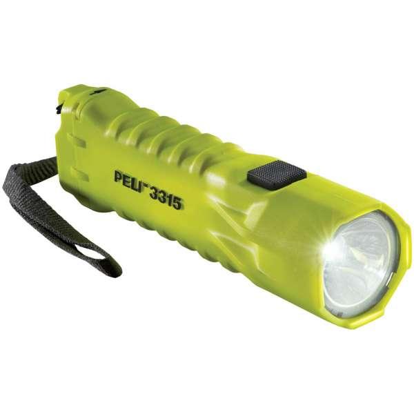 Peli 3315 Z 0 LED-Taschenlampe, ATEX 2015, Zone 0, gelb