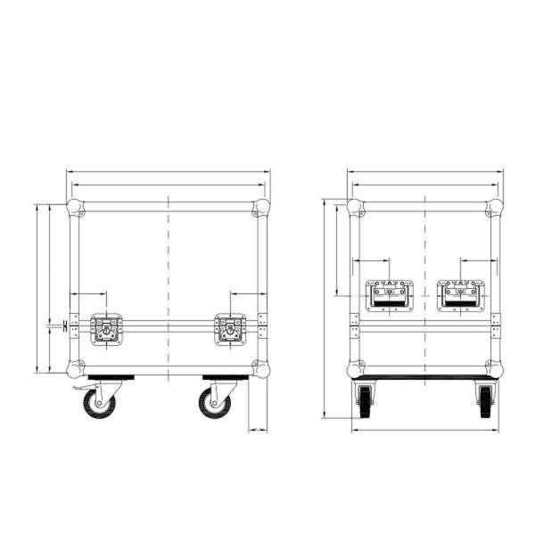dB Technologies DVA Tool Case für 2x DRK10/20 und Zubehör