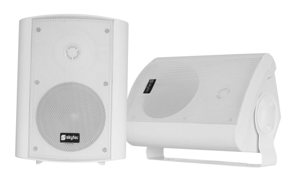 SkyTec ODS50W Set Installationslautsprecher WH