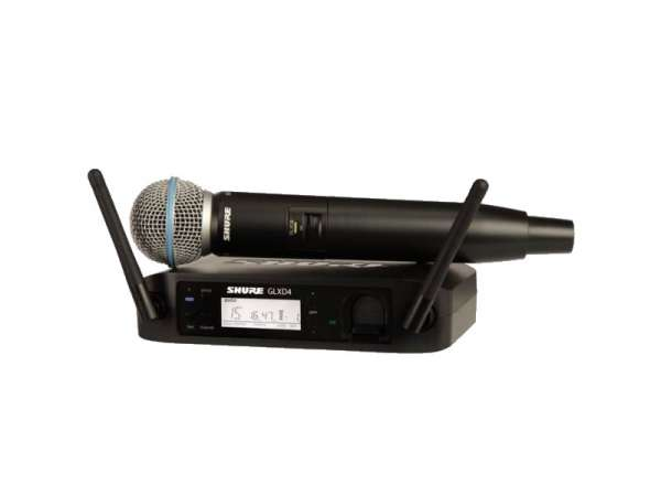 SHURE Beta 58A Vocal-Funksystem Beta58A mit GLXD4E