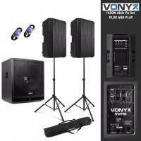 Vonyx 1815 Pro aktiv Entertainer PA Set