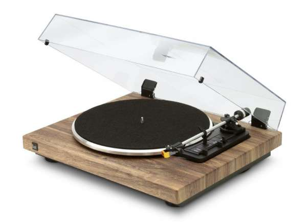 Dual CS 458 Schallplattenspieler Holz Made in Germany