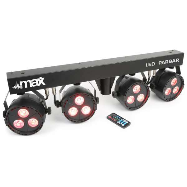 MAX LED PARBAR 4-Way 3x 4-in-1 RGBW