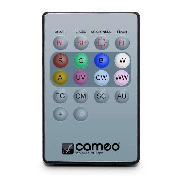 Cameo Q-SPOT REMOTE 2 - Infrarot Fernbedienung für Q-SPOTS und DROP (V2)