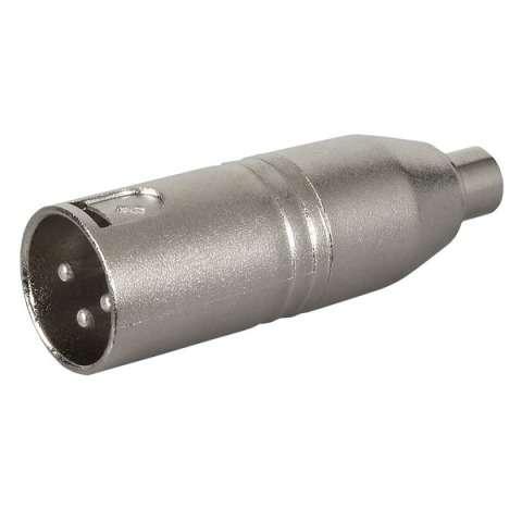DAP-Audio Adapter XLR M/RCA F
