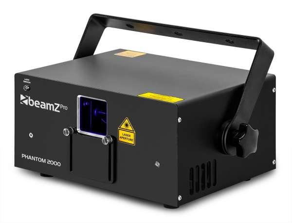 BeamZ PRO Phantom 2000 Pure Diode RGB Laser