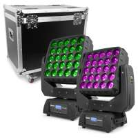 BeamZ Professional Matrix55 SET 2 Stück im Flightcase