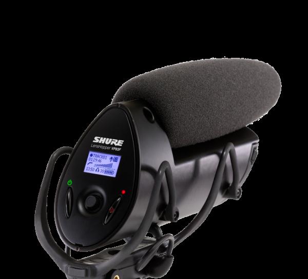 SHURE VP83F Kondensator-Mikrofon mit integrierter Aufnahme- und Playback Funktion