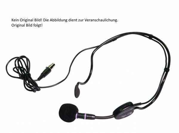 dB Technologies HM-BHM Skin Hautfarbenes Headset für Body Pack Transmitter BT-BHM