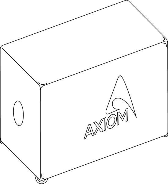 Axiom COVEREDSW218 Cover für SW218A / XA / P / XP