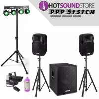 HotSound Store Party Power Pack Komplettsystem