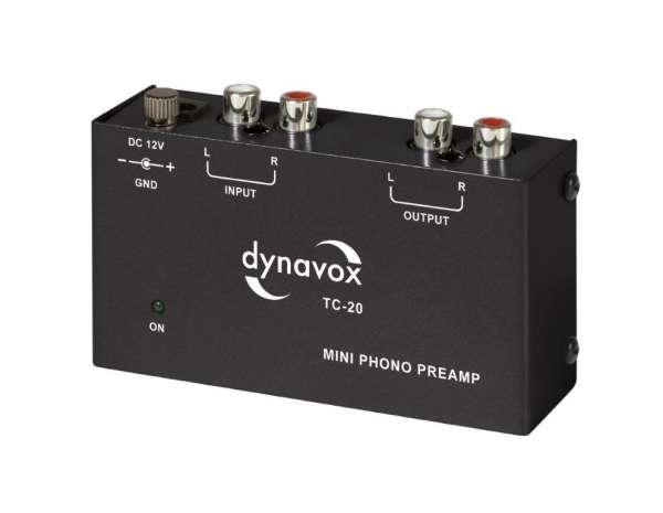 Dynavox TC-20 Phonovorverstärker schwarz