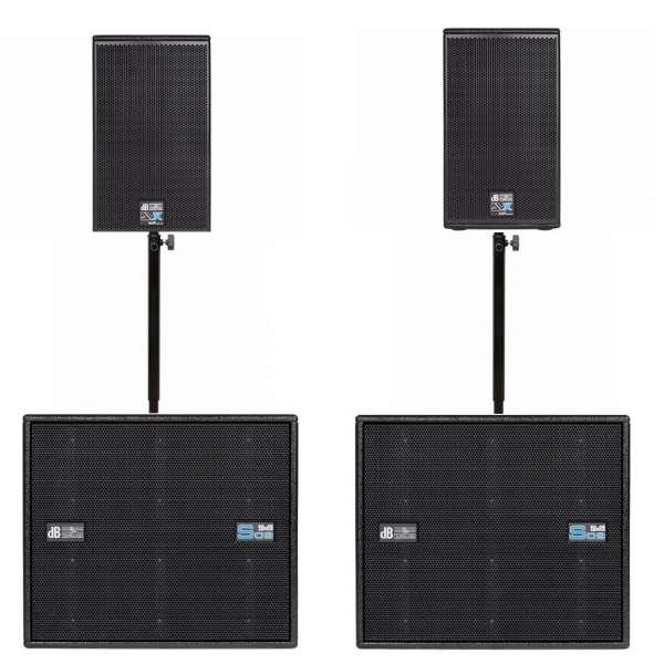 dB Technologies DVX D10 HP Club Set