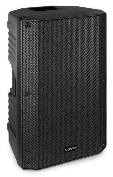 Vonyx VSA12BT aktiv PA Lautsprecher mit Bluetooth und USB Media-Player
