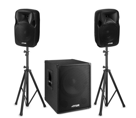 MAX MX700 2.1 aktiv Party Anlage