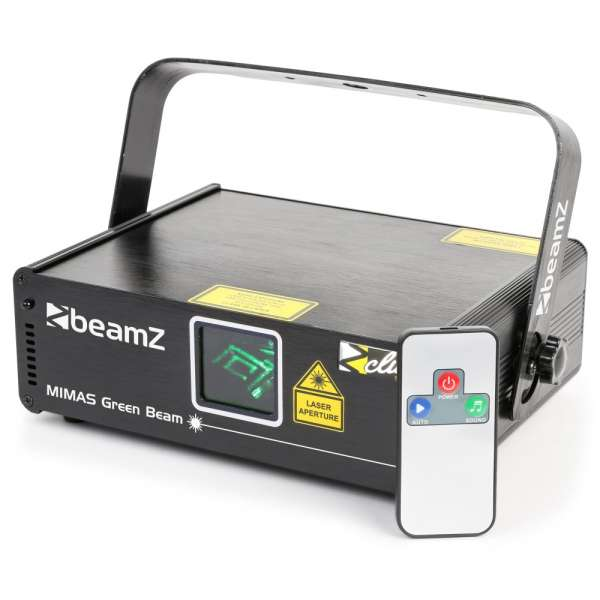 BeamZ Mimas Laser 50mW Green Beam DMX IRC