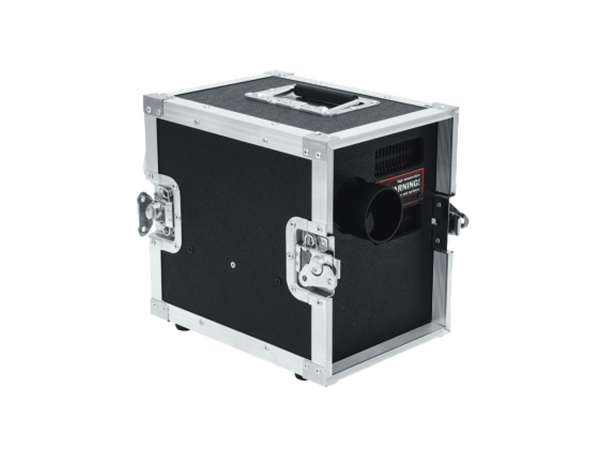 HAZEBASE base*cap*cased, Nebelmaschine 650W, 230V/50Hz, Amptown Case serienmäßig