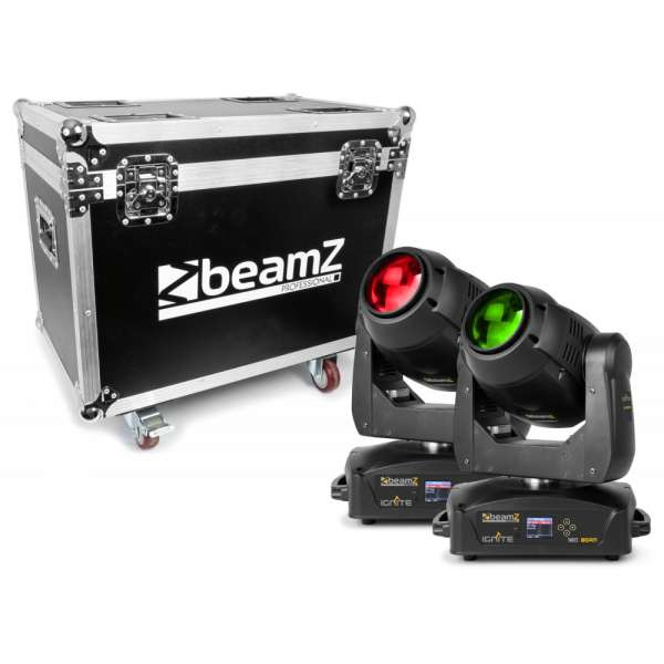 BeamZ Professional IGNITE180 Beam SET 2 Stück im Flightcase