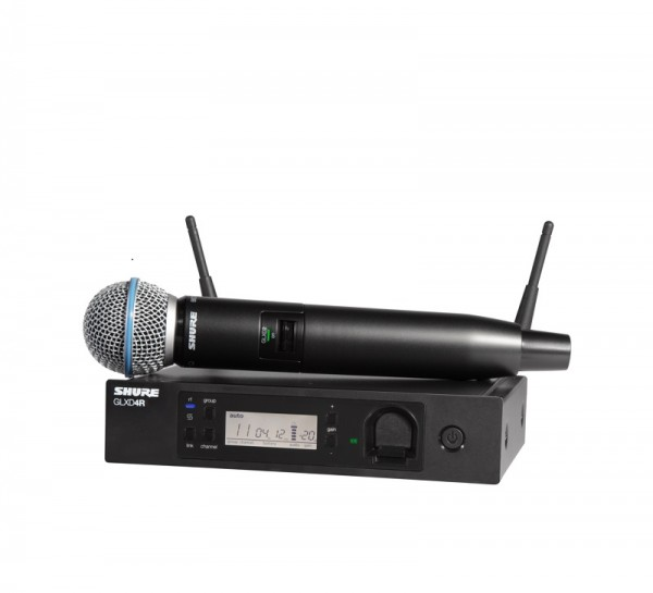 SHURE Beta 58A Vocal-Funksystem Beta58A mit GLXD4RE