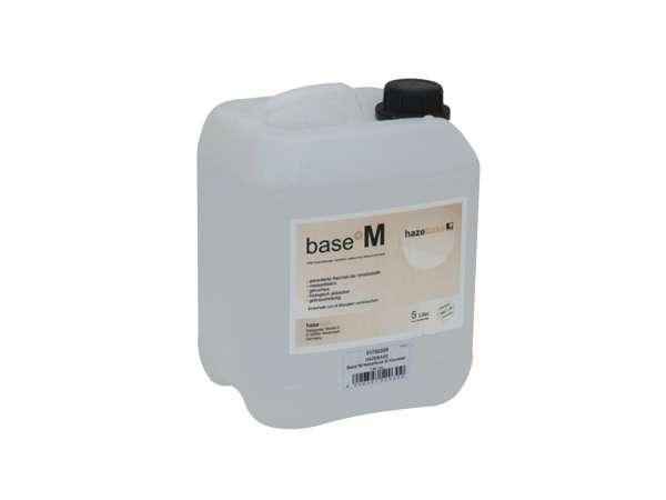 HAZEBASE base*M, mittel langanhaltendes Nebelfluid, 5-Ltr.-Kanister