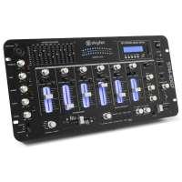 "SkyTec STM-3007 6-Kanal Mixer SD/USB/MP3/LED/Bluetooth 19"""