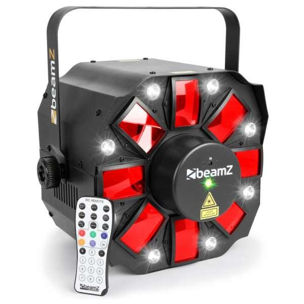 BeamZ Multi Acis III LED mit Laser und Strobe
