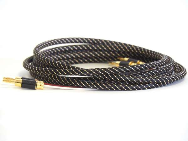 TCI Cables King Cobra High End HIFI Lautsprecherkabel 2 x 2,0m