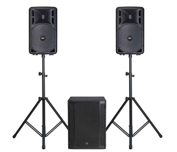 RCF ART 312-A MKIV Entertainer PA Set