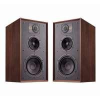 Wharfedale Linton 3-Wege Bassreflex Lautsprecher Walnut (Paar)