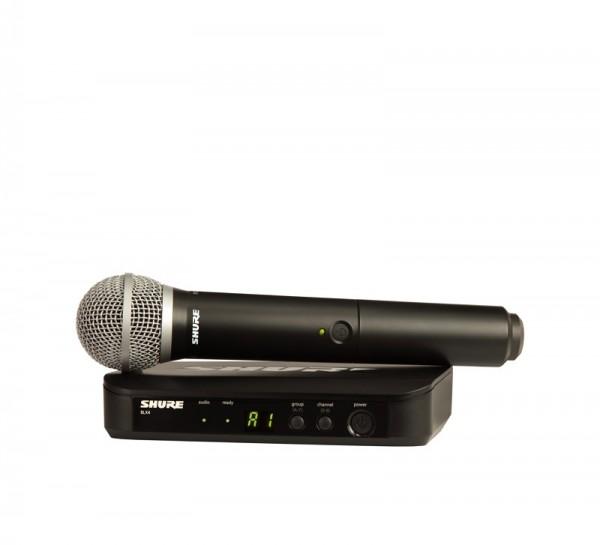 SHURE PG 58 Vocal-Funksystem PG58 mit BLX24E