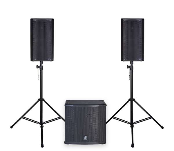 dB Technologies OPERA 12 Entertainer Set