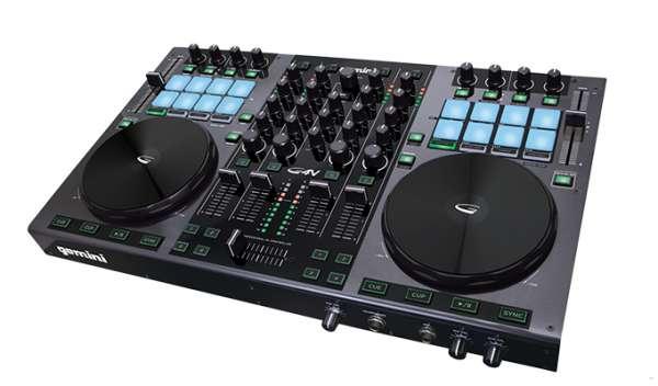 gemini G4V 4-Kanal-Controller inkl. Soundkarte, VirtualDJ LE B-Ware