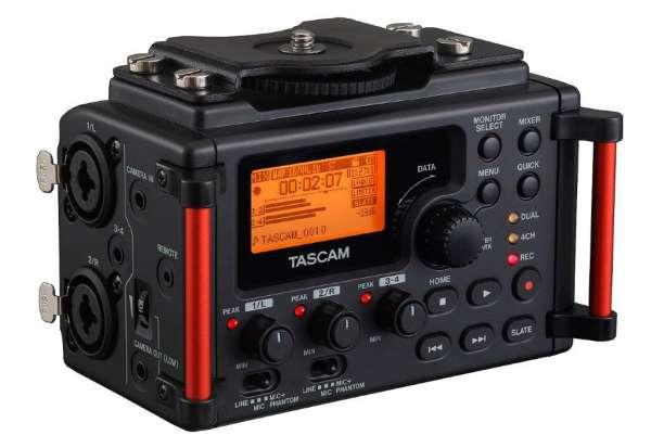 DR-60DMK2 - 4-Spur-Recorder für Tonaufnahmen mit DSLR-Kameras