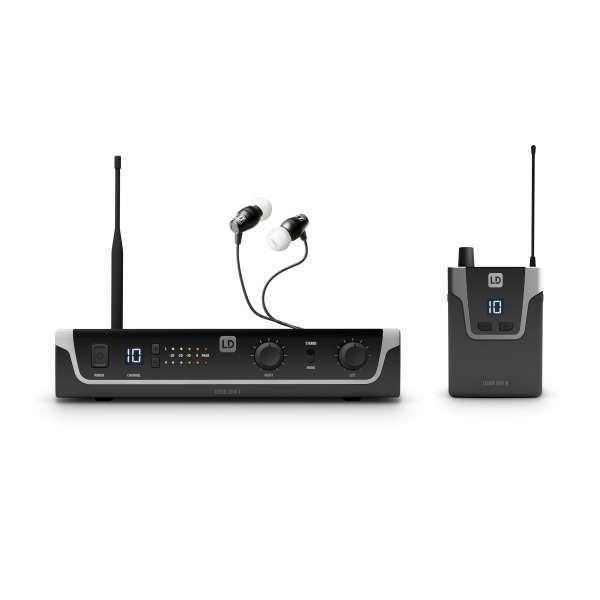 LD Systems U305 IEM HP - In-Ear Monitoring-System mit Ohrhörern