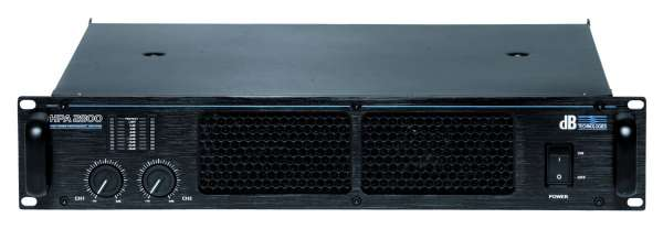 dB Technologies HPA 2800 Endstufe Amplifier
