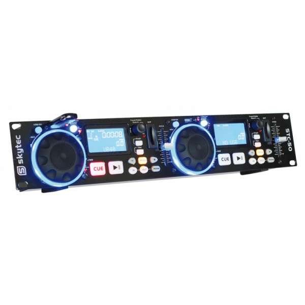 SkyTec STC-50 Dual MP3/USB/SD Spieler