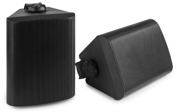 Power Dynamics BGO65 Lautsprecher Set wetterfest IP65 SW