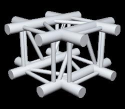 ExpoTruss X4K-30 Alu 4-Punkt Kreuz
