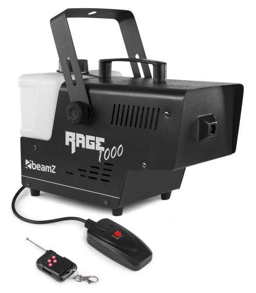 BeamZ Rage1000 Nebelmaschine mit Funkfernbedienung