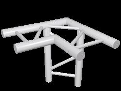 ExpoTruss X2K-30 Alu 2-Punkt 3-Weg Ecke 90Grad horizontal