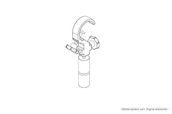 Electro Voice TCA-ZX Traversenklammer-Adapter für ZX1