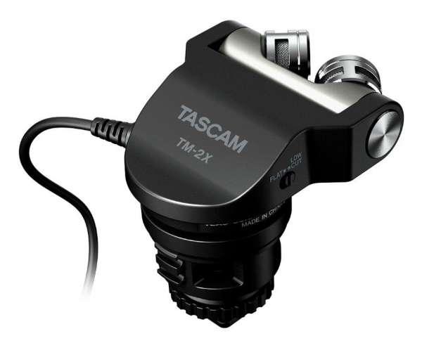 Tascam TM-2X - Hochwertiges Mikrofon für Digitalkameras