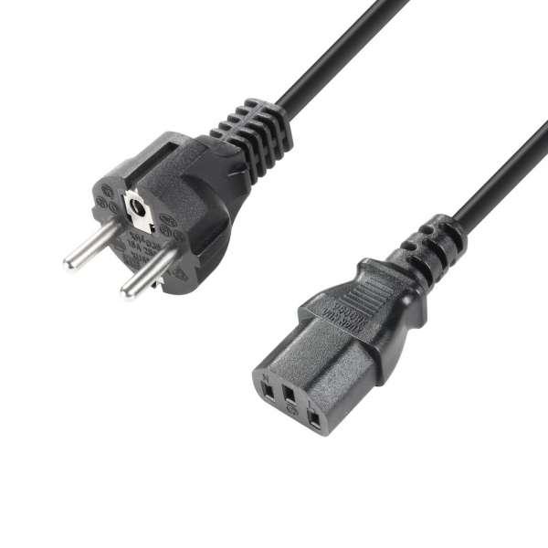 Adam Hall Cables Netzkabel Kaltgerätekabel 2m