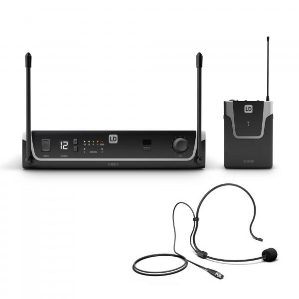 LD Systems U304.7  BPH - Funksystem mit Bodypack und Headset