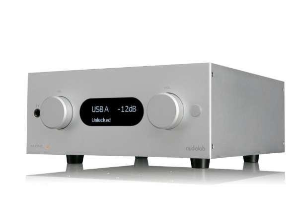 Audiolab M-ONE  Aluminum Silver
