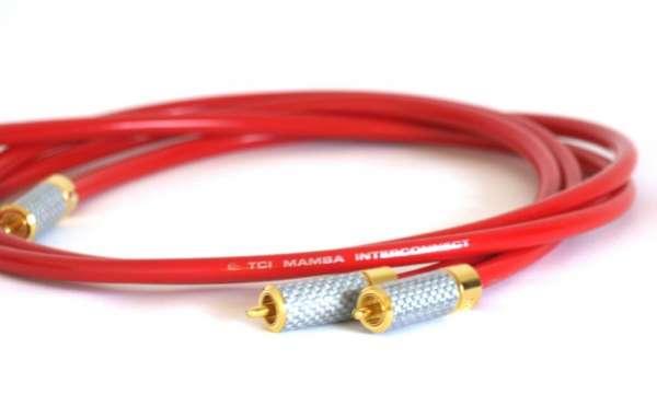 TCI Cables MAMBA High-End HIFI Cinch-Kabel RCA-RCA 1m
