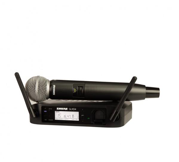 SHURE SM 58 Vocal-Funksystem SM58 mit GLXD4E