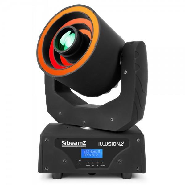 BeamZ Professional Illusion II Moving Head 3 LED Ring B-Ware
