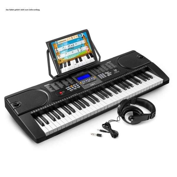MAX KB1SET 61-Tasten-Keyboard inkl. Kopfhörer