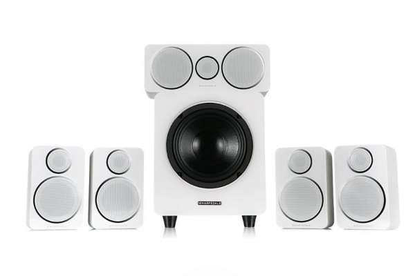 Wharfedale DX-2 5.1 HCP System White Leather